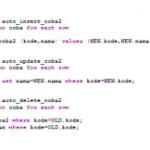 Membuat TRIGGER pada database MySQL