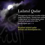 Berburu Lailatul Qadar