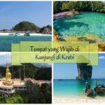 5 Tempat yang Wajib Dikunjungi di Krabi
