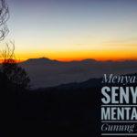 Menyambut Senyum Mentari di Gunung Bromo