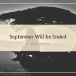 September Will be Ended