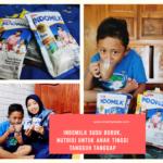 Indomilk Susu Bubuk, Nutrisi Untuk Anak Tinggi Tangguh Tanggap